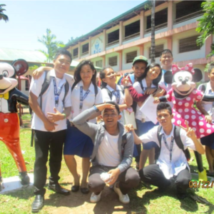 MercyJuniorCollege Philippines Students Mickey