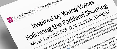Mesa Statement Parkland School Shooting
