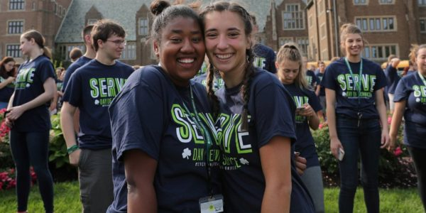 Mercyhurst students day of service